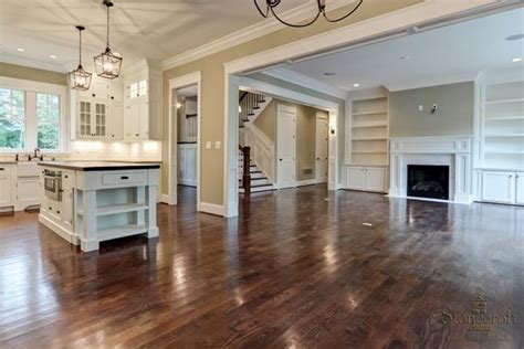 open plan flooring open floor plan beautiful hardwood dream home pinterest