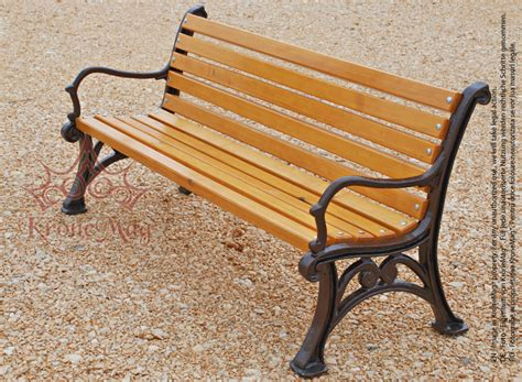 wrought iron bench wood slats cast iron garden bench with wooden slats sanove fr