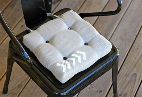 diy chair cushion crafts and projects