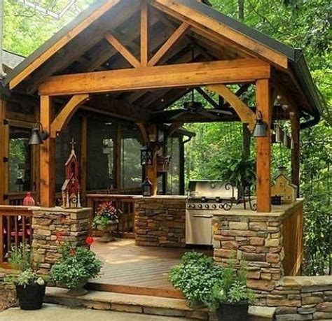 rustic outdoor kitchen ideas best 25 rustic outdoor spaces ideas on pinterest rustic
