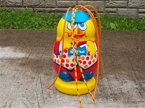 pvc sprinkler water toy willy the water bug backyard sprinkler toy who thought