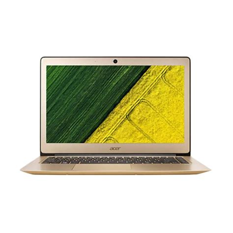 Laptop Acer 14 Inch I5 jual acer 3 sf314 51 53l3 2 notebook gold 14 inch i5 6200u 4gb win10 gold