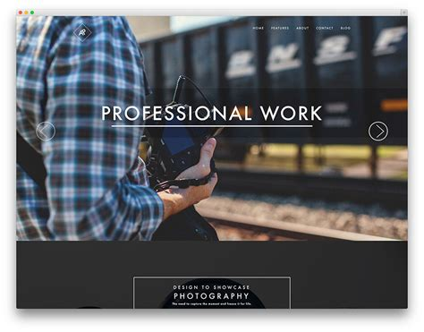 40 best photography wordpress themes 2017 colorlib
