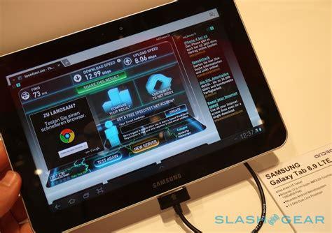 Samsung Galaxy Tab 8 9 Lte samsung galaxy tab 8 9 lte on speedtested slashgear