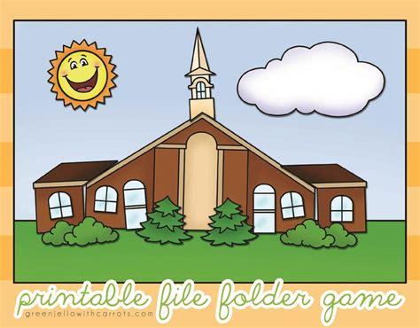 build a church printable file folder by greenjello craftsy