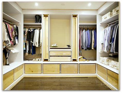 Dressing Closet by Diy Custom Closet Dressing Room Glam Living