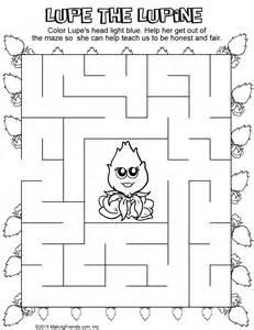 scout daisy light blue petal maze