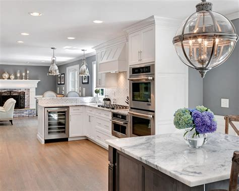 beautiful kitchens designs timeless grey and white kitchen middletown new jersey by
