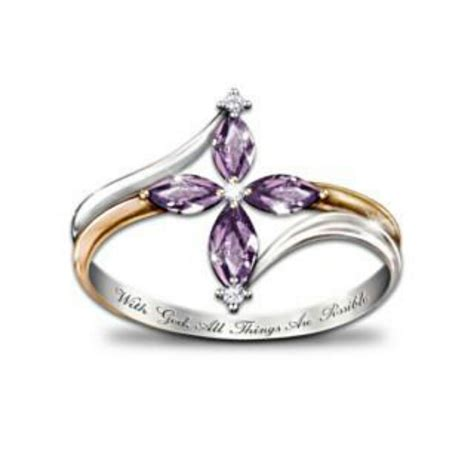ring from bradford exchange dressed from to toe