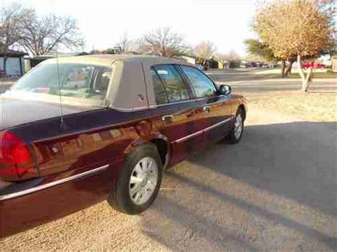 auto air conditioning service 2005 mercury grand marquis electronic toll collection find used 2005 mercury grand marquis ls sedan 4 door 4 6l in wilson texas united states