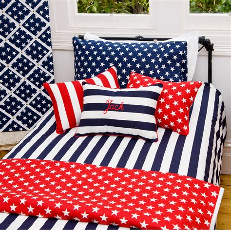 Navy And White Striped Quilt by Navy And White Striped Bed Sheets Bedding Sets