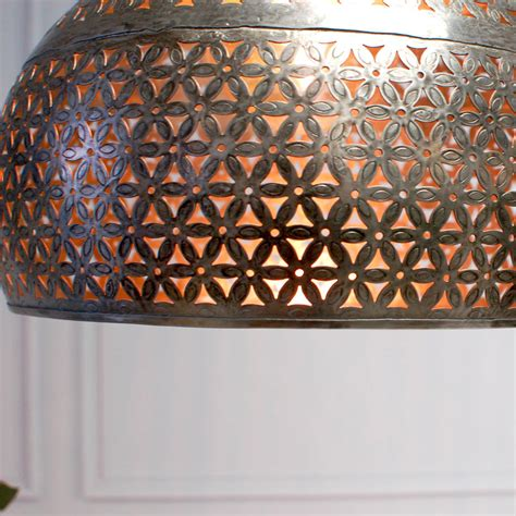 Moroccan Ceiling Lights Moroccan Marrakesh Ceiling Pendant Light By Made With Designs Ltd Notonthehighstreet