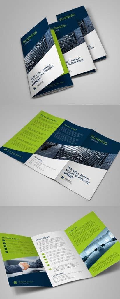 desain brosur retro contoh desain brosur lipat tiga desain dan percetakan