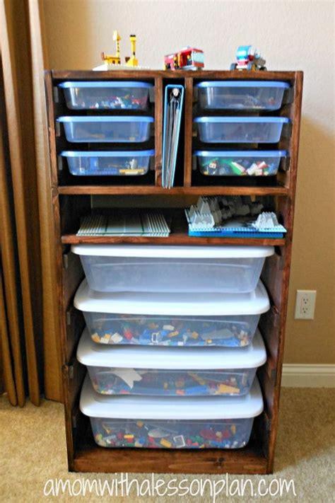 Diy Shelf Organizer by Creative Lego Storage Ideas Hative