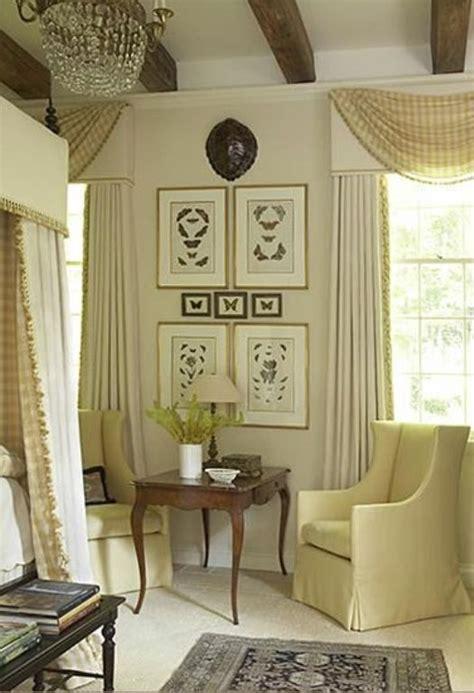 swag bedroom swag over cornice curtain ideas pinterest window