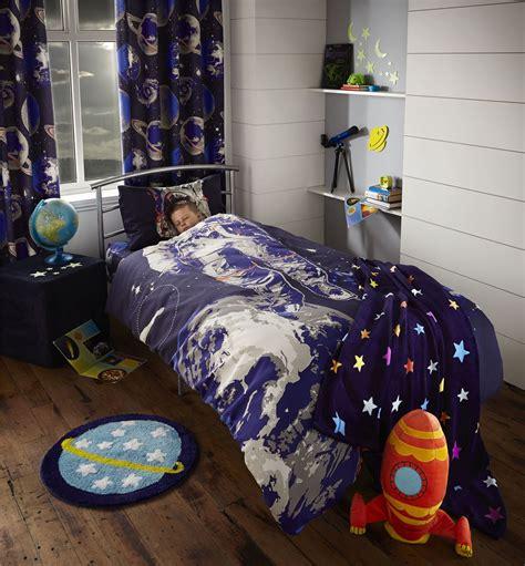 astronaut bedding catherine lansfield astronaut spaceman space boys bedding