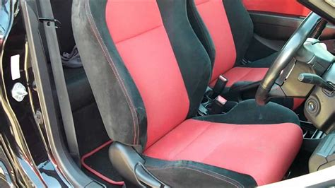 Home Remedies For Cleaning Car Interior how to clean honda recaro seats using woolite youtube