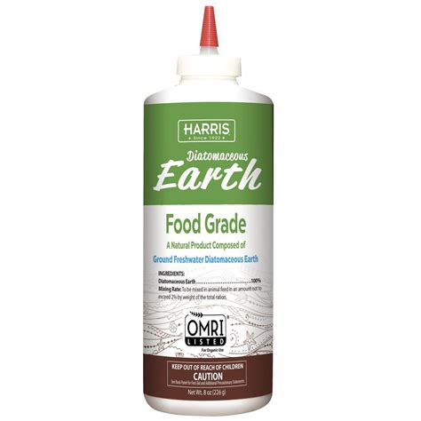 harris 8 oz diatomaceous earth food grade ede fg8 the