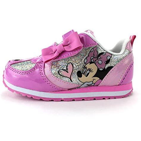 minnie mouse shoes for toddler minnie mouse pink lighted sneakers shoes light up