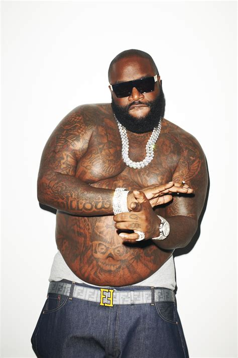 rick ross tattoos missinfo tv 187 rick ross by terry richardson for rolling