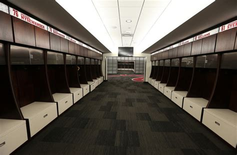 in locker room arms race the top locker rooms in college football saturday south