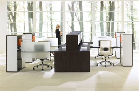 Teknion Expansion Desking by Open Office Systems Ispace Environments