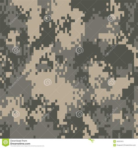 army digital pattern background digital camo pattern background stock vector image 40331815