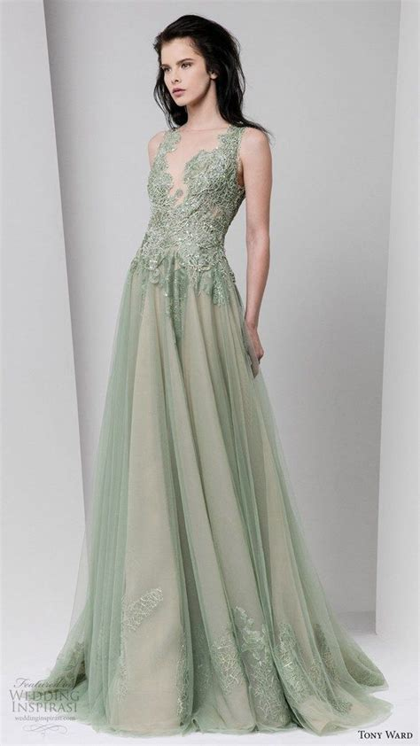 25 best ideas about green wedding dresses on pinterest