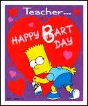 the simpsons archive greeting cards simpsons valentines