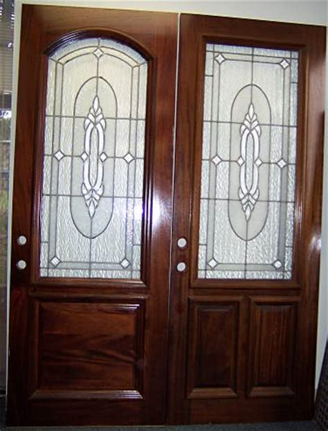 Dp08 Glass Doors Double Designer Cut Glass Door Cut Glass Doors