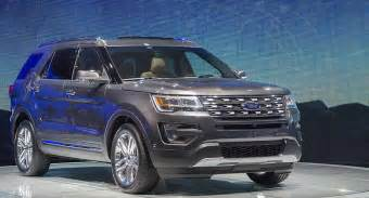 2017 Ford Explorer New Ford Explorer 2017 Review Changes New Automotive Trends
