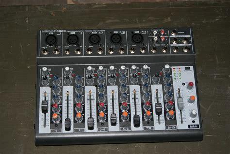 Mixer Xenyx 1002b behringer xenyx 1002b image 235478 audiofanzine