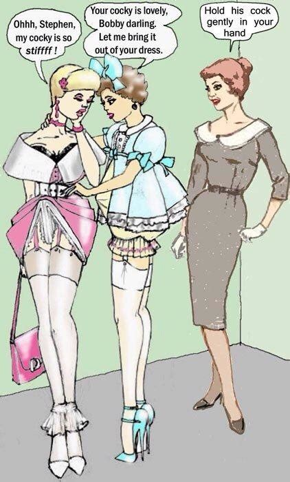forced feminization art and drawings colleen s sissy stuff sissy boys pinterest prissy