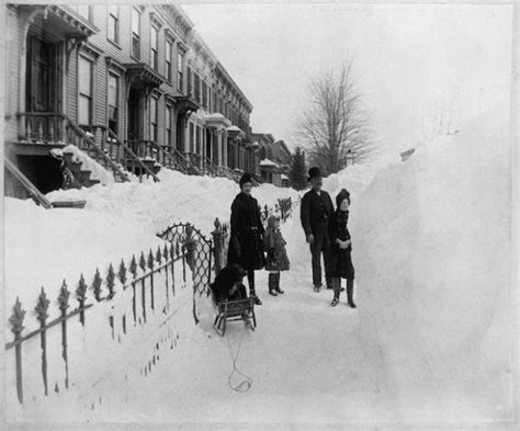 the great blizzard of 1888 new york during the great blizzard of 1888 neatorama