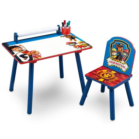 paw patrol desk chair new delta children paw patrol activity desk table with