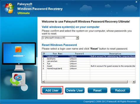 reset password in xp mode forgot windows xp password how to recover it