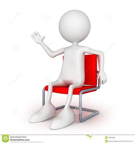 Sitting Easy Chairs Hi Sitting On Easy Chair Stock Images Image 16005984
