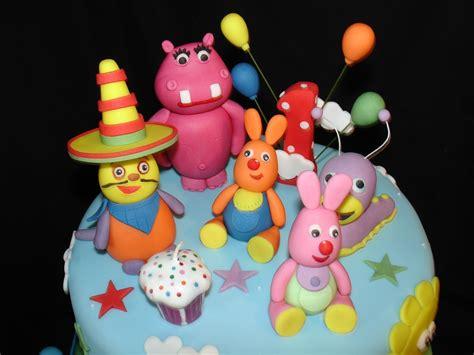 1st bday 1st bday baby tv theme fondant cake cakecentral