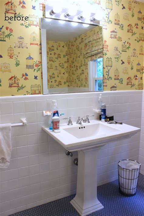 powder room accessories amusing best 25 powder room decor our stenciled bathroom budget makeover reveal driven by