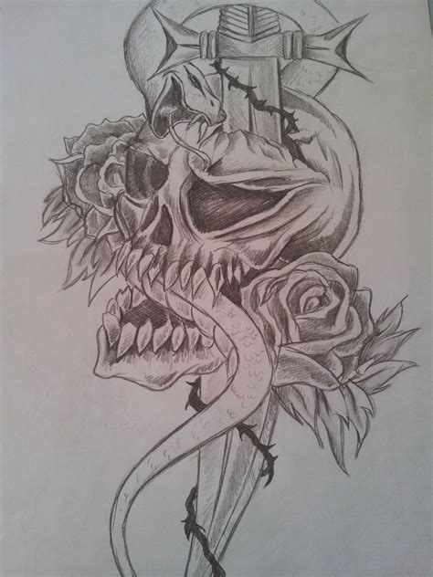 tribal tattoo sketch tribal skull drawing sketch by