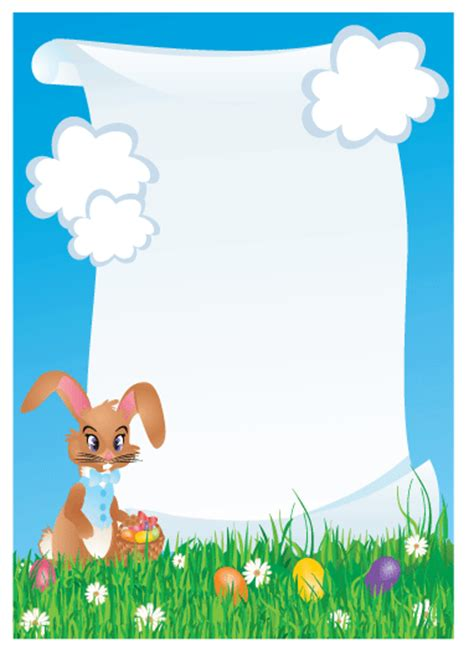 letter to easter bunny template free printable easter bunny letters invitations ideas