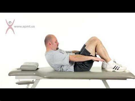 exercise supine abdominal crunch m4v