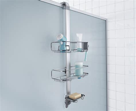 Simplehuman Over Door Stainless Steel Shower Caddy Organiser Door Shower Organizer