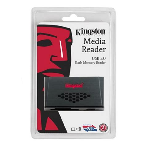 Kingston Usb 30 High Speed Media Reader Fcr Hs4 Murah kingston usb 3 0 media reader fcr hs3 black jakartanotebook