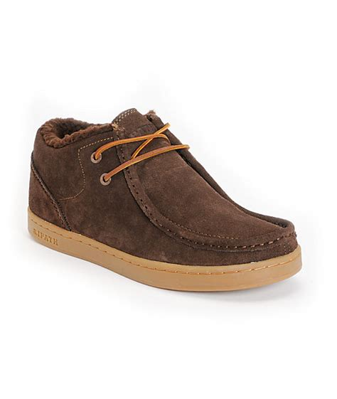ipath shoes ipath cat shearling coffee suede shoes at zumiez pdp