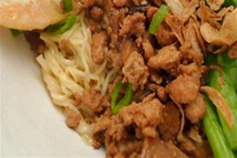 membuat mie ayam jamur resep mie ayam jamur resep cara membuat masakan enak