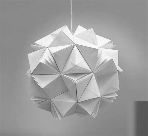 Origami Designer - diy lighting with original origami design by jiangmei wu