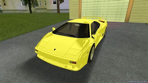 Lamborghini Diablo Vttt замена Infernus Dff в Gta 3 13 файлов