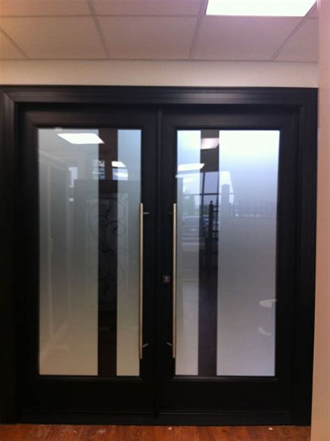 modern contemporary front entry double doors fiberglass