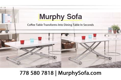 Space Saving Coffee Table Transforms Into Dining Table In Coffee Table Transforms To Dining Table